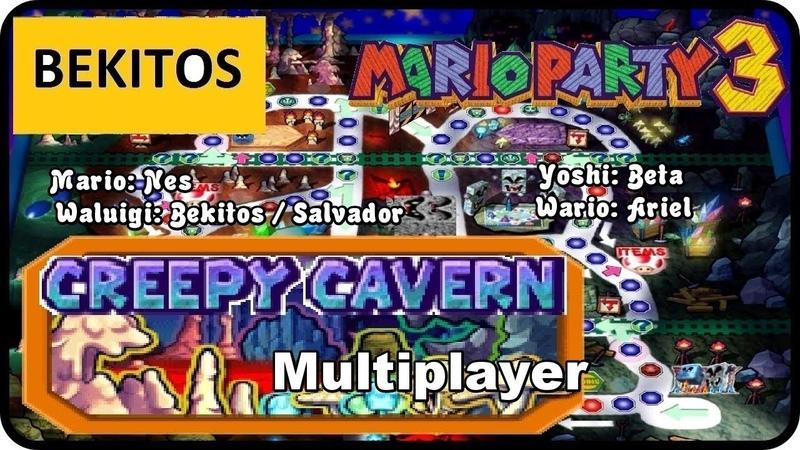 Mario Party 3 Creepy Cavern Multiplayer