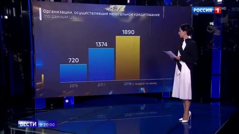 Минфин предлагает безжалостно сажать черных кредиторов - Россия 24
