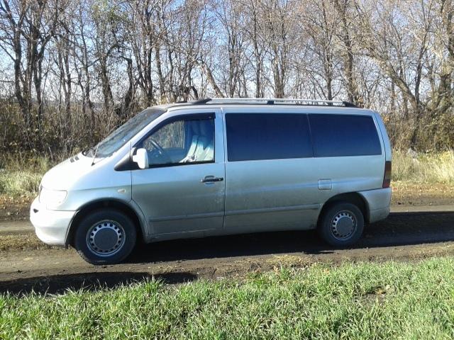 ПРОДАМ MERCEDES Vito пассажир 7+1 мест 2002 год 2.