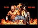 The Undertaker vs Triple H