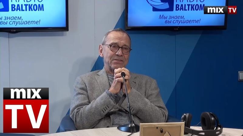 Кинорежиссер и сценарист Андрей Кончаловский в программе Встретились поговорили MIXTV