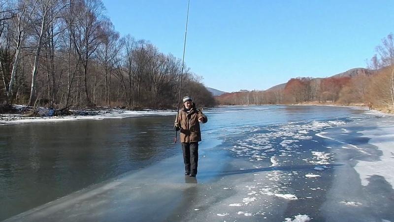 Рыбалка в Приморье Река Журавлёвка 26 27 11 2018 г
