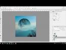 Простой эффект в Фотошопе Geometric reflection Фотошоп кво