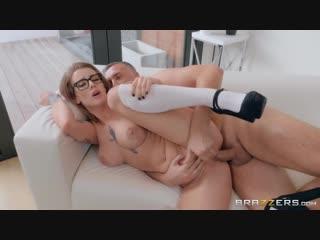 Luna Skye and Keiran Lee - Cramming The College Cutie [All Sex, Hardcore, Blowjob, Big Tits]