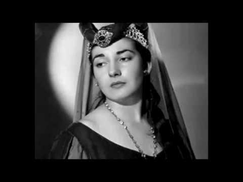 Young MARIA CALLAS (1949 - 1953)