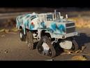 RC модель К-701 КИРОВЕЦ гусеничный трактор КАСТОМ ПРОЕКТ в масштабе 1:43 / ОБЗОР RC модели
