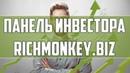 Панель инвестора RichMonkey biz для автоматического учёта инвестиций Как пользоваться