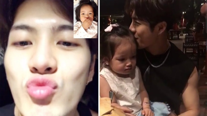 GOT7 Jackson Wang Sweet Uncle With His Niece Aimee