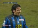 18 01 2009 Чемпионат Италии 19 тур Аталанта Бергамо Интер Милан 3 1