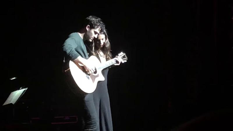 Lea Michele Darren Criss- Make you Feel My Love UNPLUGGED LMDC Tour Ace Hotel Theater 11/05/18