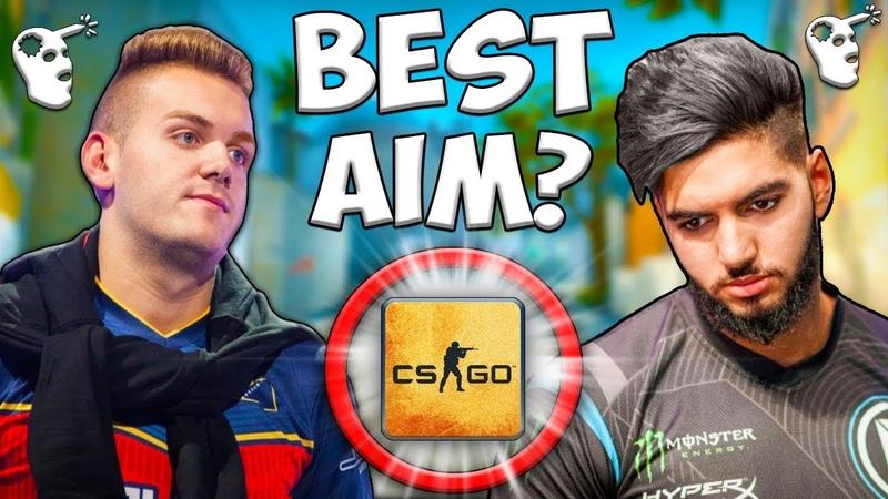 THE BEST AIM in CS:GO? ScreaM or NiKO Top Plays!