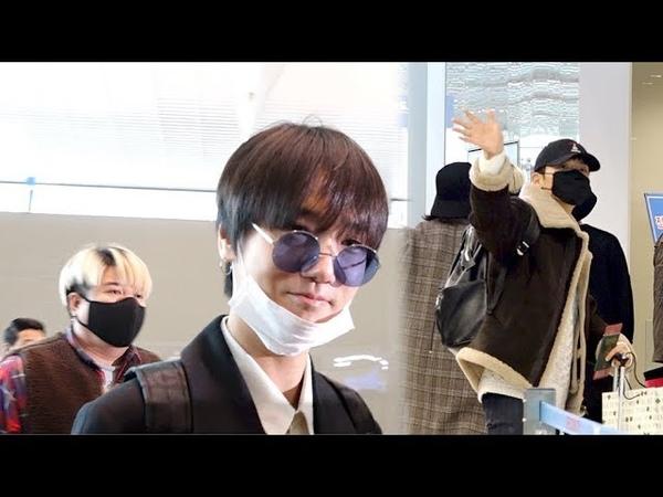 [HD영상] 슈퍼주니어(Super Junior), 공항을 누비는 존재감 끝판왕들(190116)