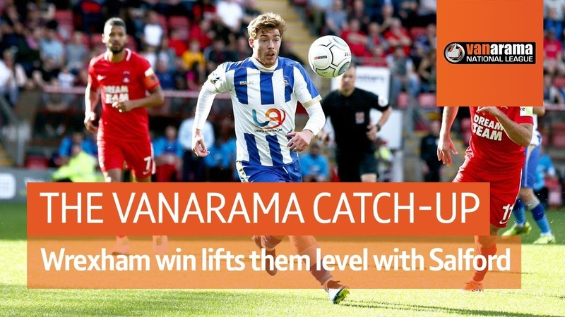 Vanarama National League Highlights: Wrexham's win lifts them level with Salford