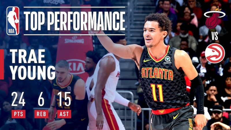 Rookie Trae Young is DOMINANT In Victory Over Miami Heat | November 3, 2018 NBANews NBA Hawks