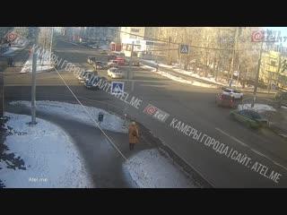 Спешка перекрёсток Плеханова Луначарского.
