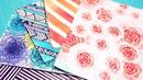 ¿No tienes hojas Scrapbook ¡Crea tu propio papel decorado DIY