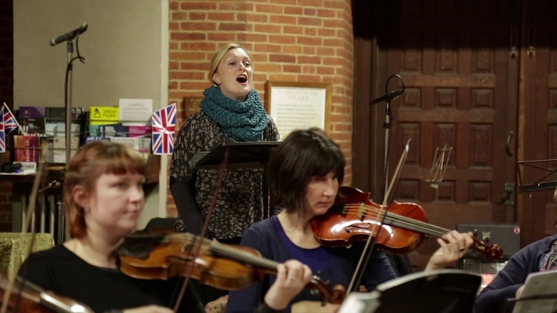 EOC and Lucy Crowe perform Handel's 'As when the dove'