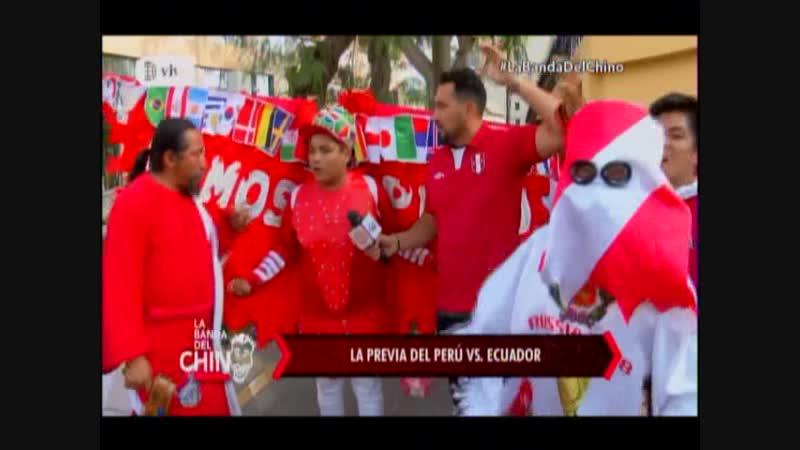 Nota - La Previa del Peru vs Ecuador