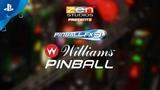 Pinball FX3 - Williams Pinball Volume 1 Launch Trailer | PS4