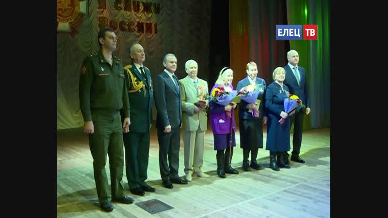 Руководители города поздравили ельчан с Днём защитника Отечества в Городском дворце культуры состоялся праздничный концерт