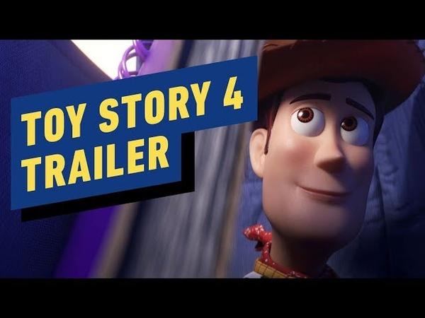 Toy Story 4 - Official Trailer (2019) Tom Hanks, Tim Allen
