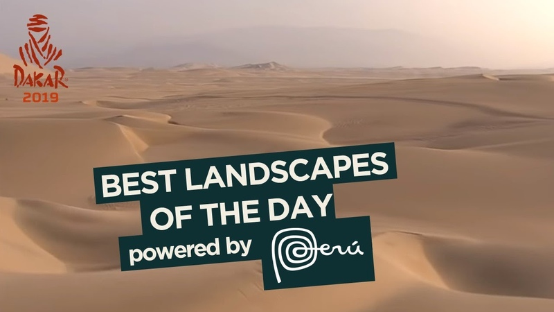 PERU Landscape of the day Stage 10 Pisco Lima Dakar 2019