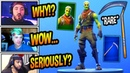 STREAMERS REACT TO *NEW* BRAINIAC SKIN! (ZOMBIE TFUE) OG SCYTHE PICKAXE COMING BACK! Fortnite BR