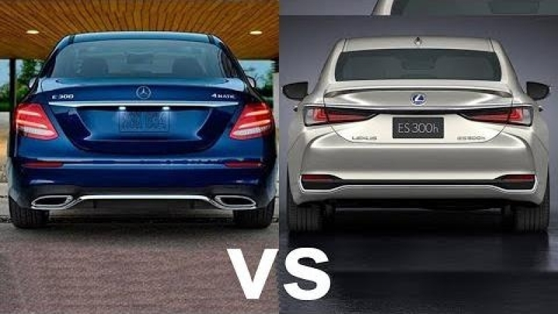2019 Mercedes E-Class vs 2019 Lexus ES - Mid-Sized Luxury Sedan!