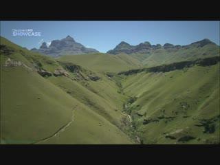 BBC «Прогулки по Южной Африке (2). Долина Драконовых гор» (Познавательный, природа, путешествие, 2010)