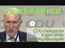 Landesverrat CDU Parteitag leicht disharmonisch Eugen Abler zum Migrationspakt