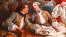 Discover French paintings Charles André Van Loo Halte de chasse