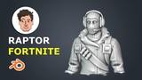 Sculpting a Fortnite Character in Blender