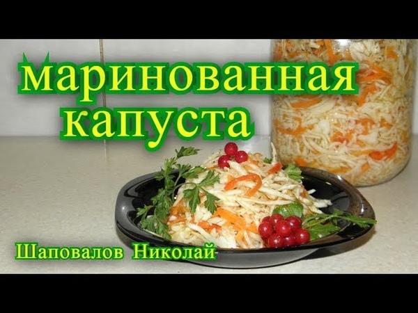 Маринованная капуста быстрый рецепт . » Freewka.com - Смотреть онлайн в хорощем качестве