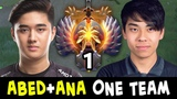 TOP-1 RANK + TI8 WINNER in one team when ABED meets ANA