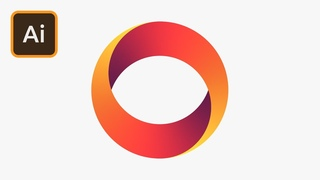 Create a Gradient Logo in Illustrator Tutorial