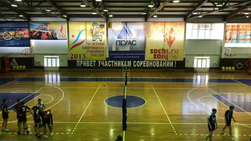 Волейбол Саратов - Саранск. Игра за 3 и 4 места
