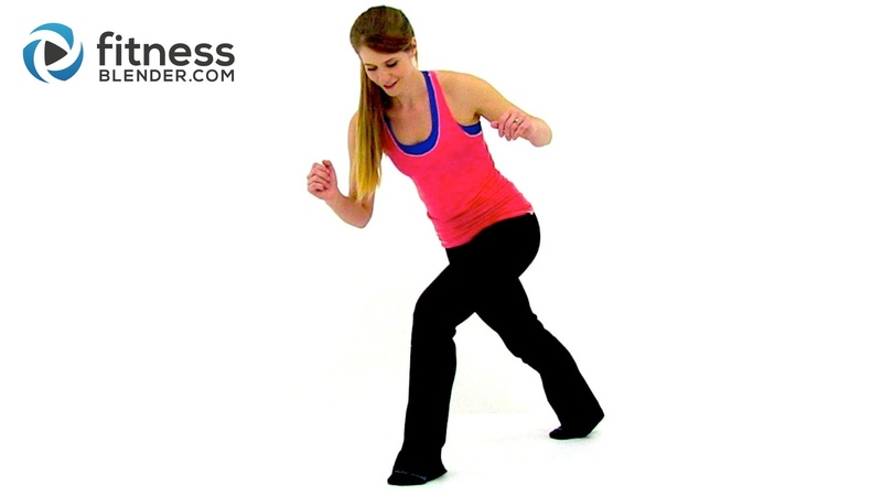 Quiet Cardio Workout Low Impact No Bounce Recovery Cardio Workout