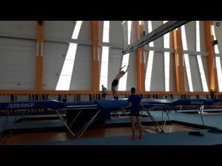 Как проходят тренировки в новом батутном центре в Витебске