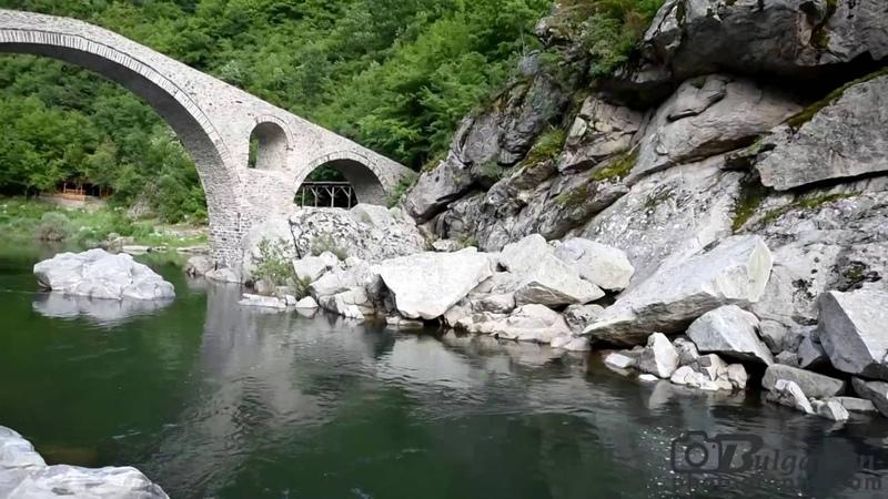 Devil's bridge /Чертов Мост в горах Родопы, Болгария/