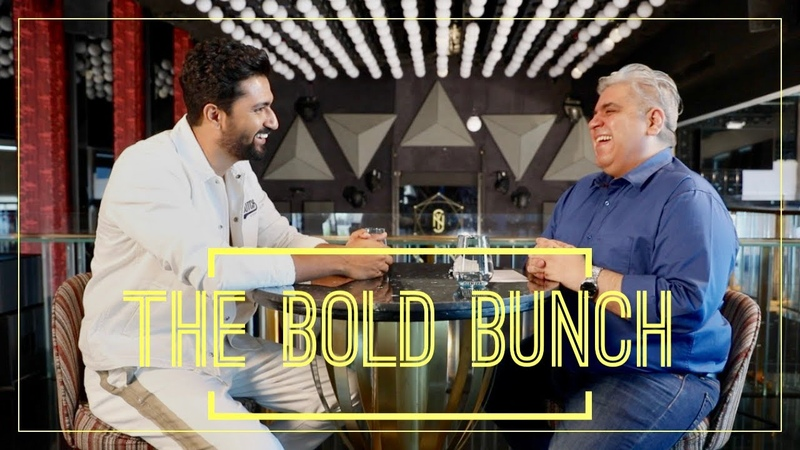 The Bold Bunch Vicky Kaushal with Rajeev Masand