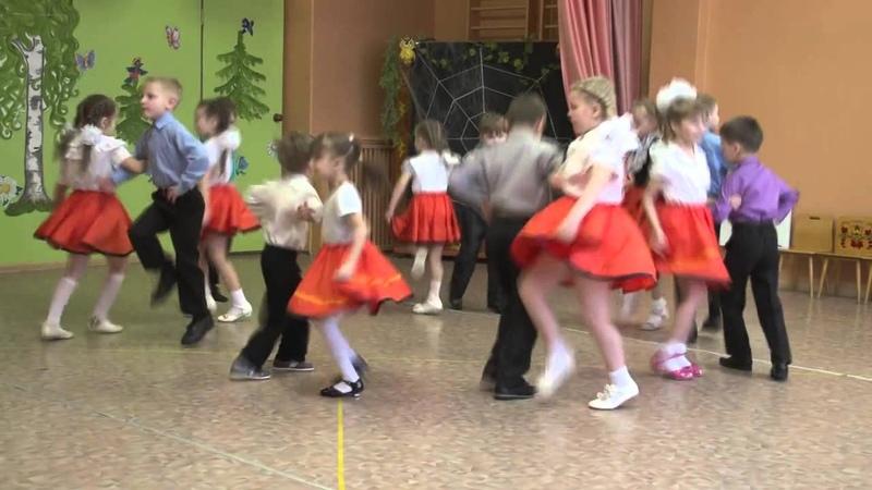 башмачки танец кружок