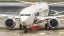 FIRST BOEING 737 MAX LANDING at Düsseldorf (4K)