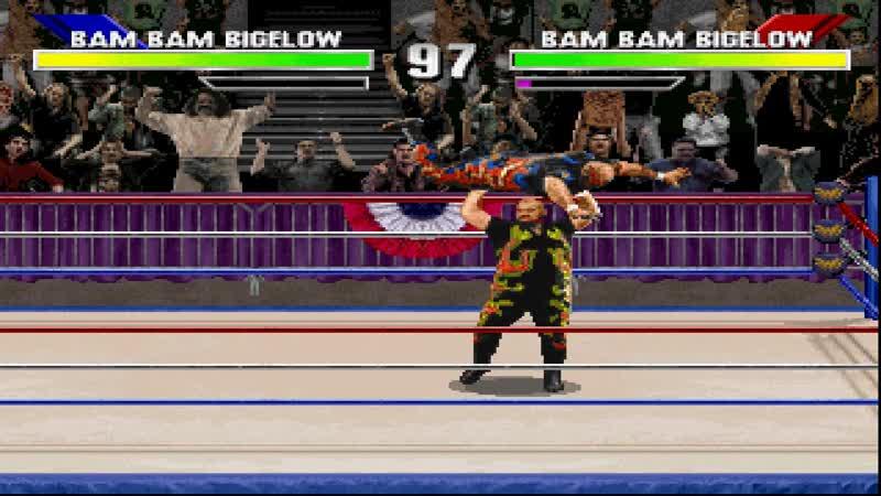 WWF WrestleMania The Arcade Game PSOne
