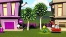Цветок Город Летающих Машинок Детские мультики