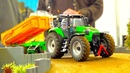 RC SIKU CONTROL I 1 32 SCALE TRACTOR AND FARM ACTION I K700 I JOHN DEERE I FENDT AT WORK