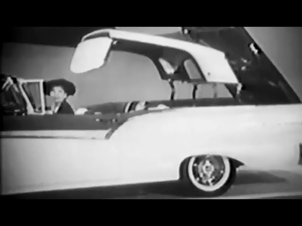 Ford Fairlane Skyliner Retractable Roof TV Commercial 1957 Lucille Ball Desi Arnaz I Love Lucy