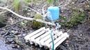 Ученые физики в шоке Насос качает воду без электричества этого не может быть