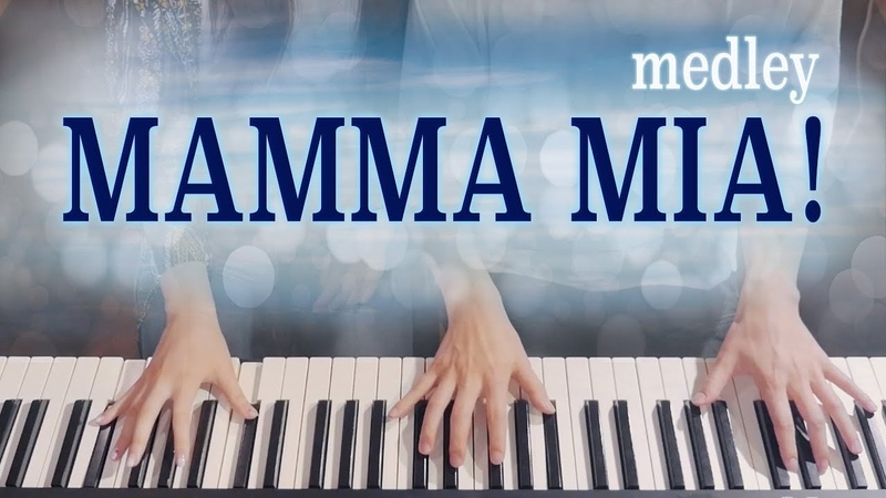🎵Mamma Mia 맘마미아 Medley 4hands piano