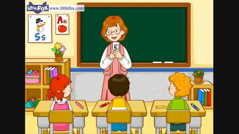 Mrs. Kellys Class 2- My Name Is Minwoo - Level 1 - By Little Fox