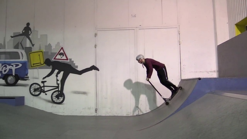 Давыдов Иван - PowerTrick самокат контест - скейтпарк BunnyHop 20181216